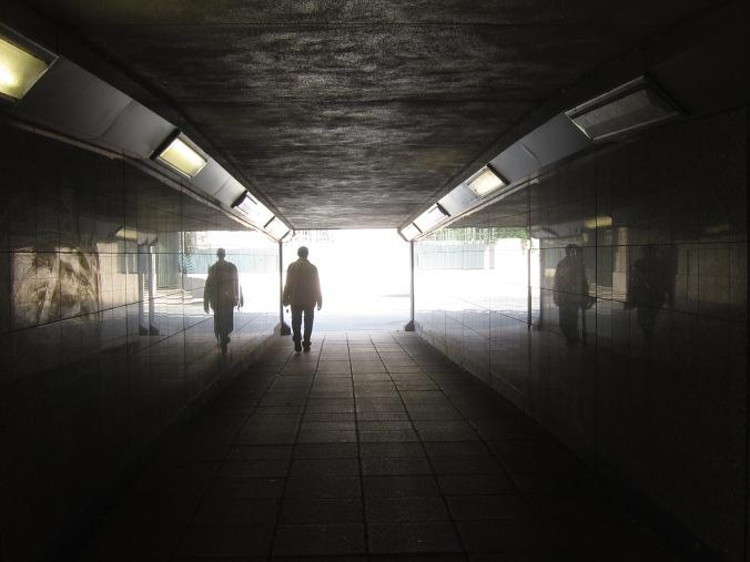 Tunneli Vauxhallissa.