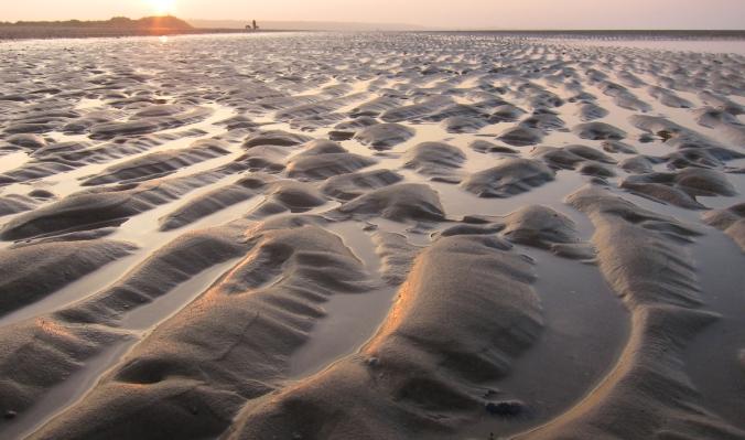 Pohjanmeren rannalla, Norfolkissa.